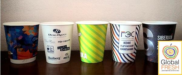 Стаканчики для напитков (пластиковые и бумажные